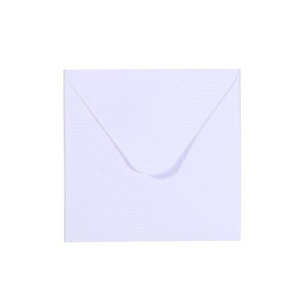 Florence - Enveloppen 9,5 x 9,5 cm wit - 120 grams - set van 25