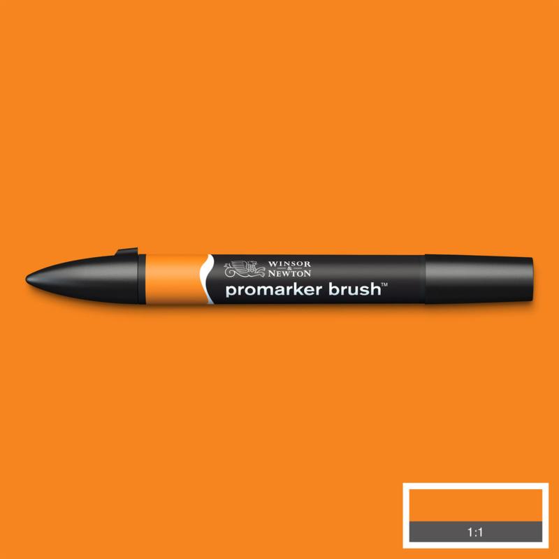 Winsor & Newton promarkers Brush - Pumpkin