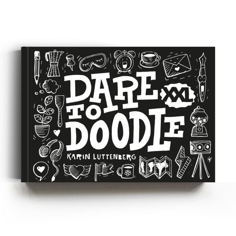 Paperfuel Boek 'Dare to doodle' XXL