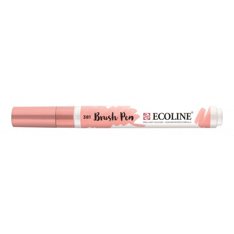 Talens Ecoline Brush Pen - 381 pastelrood