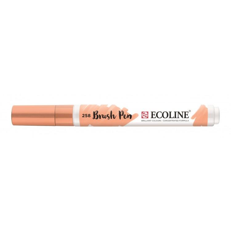 Talens Ecoline Brush Pen - 258 abrikoos
