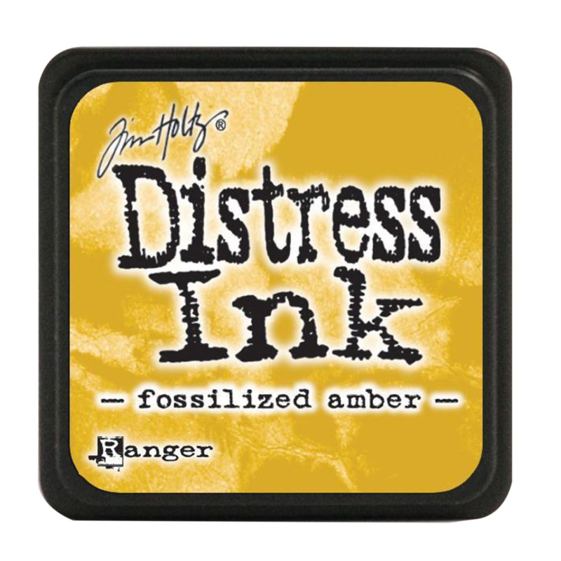 Tim Holtz Distress ink mini - fossilized amber