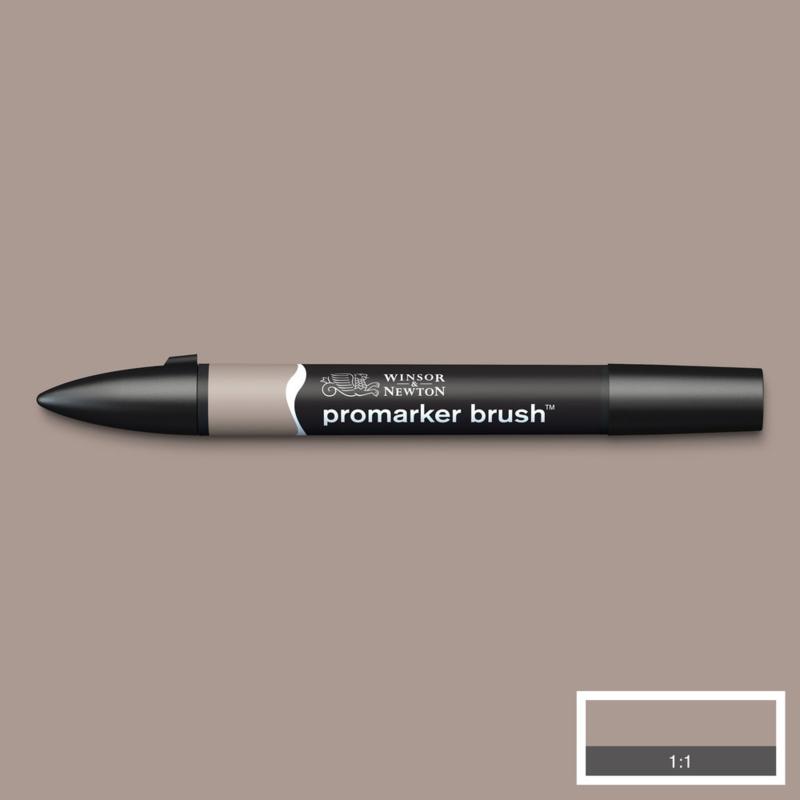 Winsor & Newton promarkers Brush - Warm Grey 3