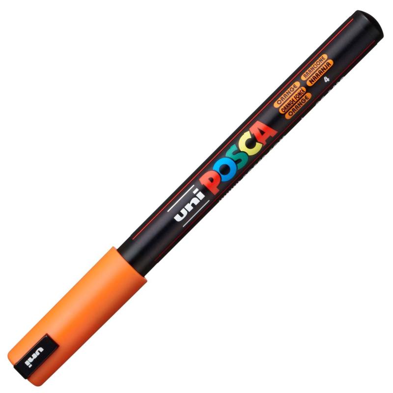 Uni Posca Paint Marker PC-1MR - Ultra Fijn - Oranje