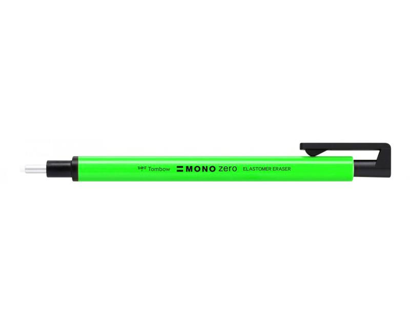 Tombow Mono Zero Gumpen - extra fijn rond 2,3 mm - Neongroen