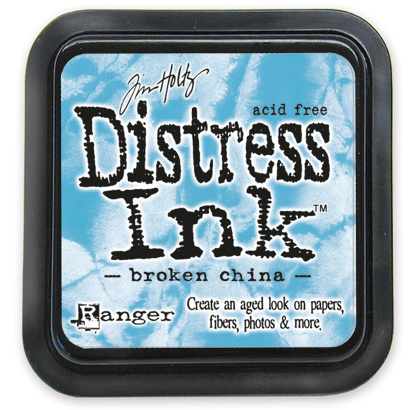 Tim Holtz Distress ink pad - broken china