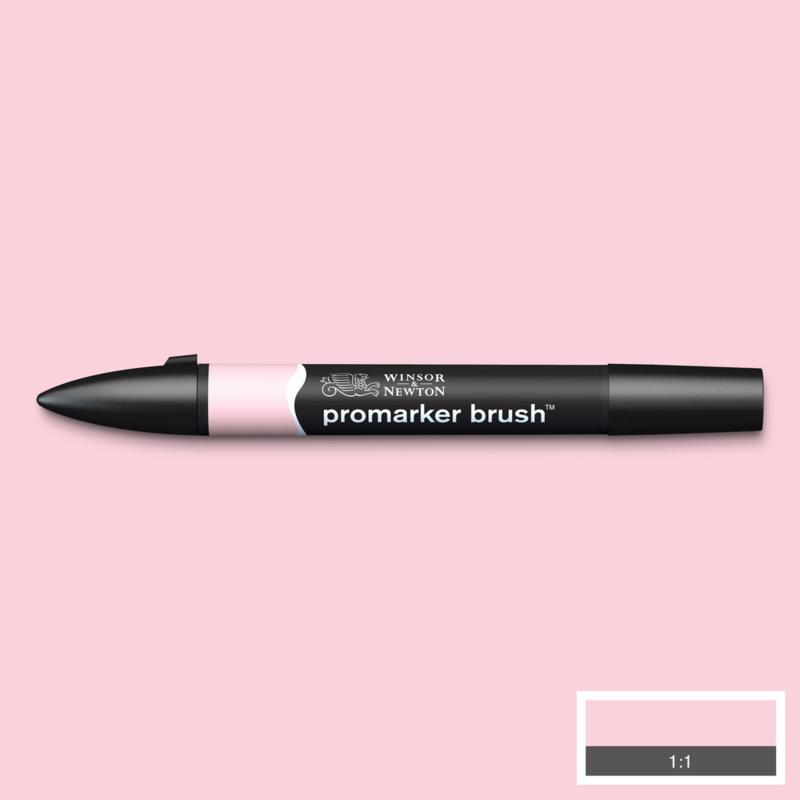 Winsor & Newton promarkers Brush - Pale Pink