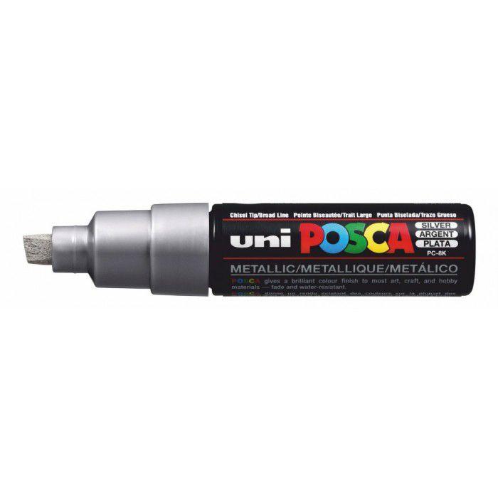 Uni Posca Paint Marker PC-8K - Zilver