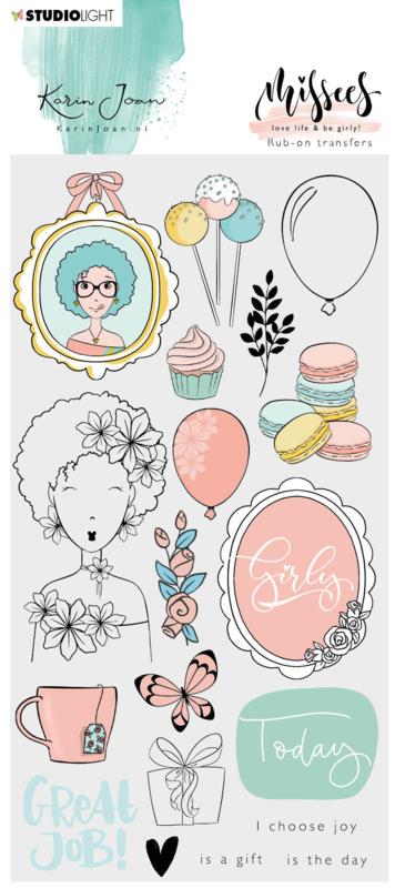 Studio Light Rub on Sticker - Karin Joan Missees Collection nr.04