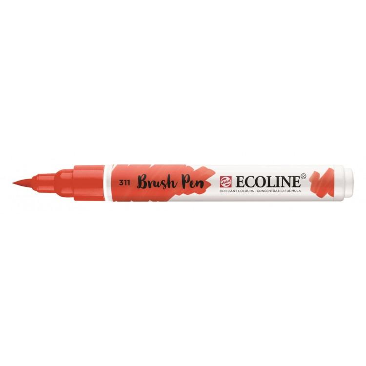 Talens Ecoline Brush Pen - 311 vermiljoen
