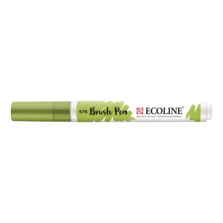 Talens Ecoline Brush Pen - 676 grasgroen