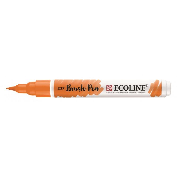 Talens Ecoline Brush Pen - 237 donkeroranje