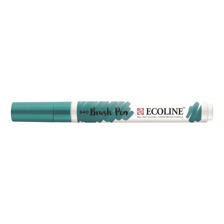 Talens Ecoline Brush Pen - 640 blauwgroen
