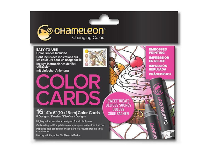 Chameleon Color Cards - Sweet Treats 10 x 15 cm - set van 16
