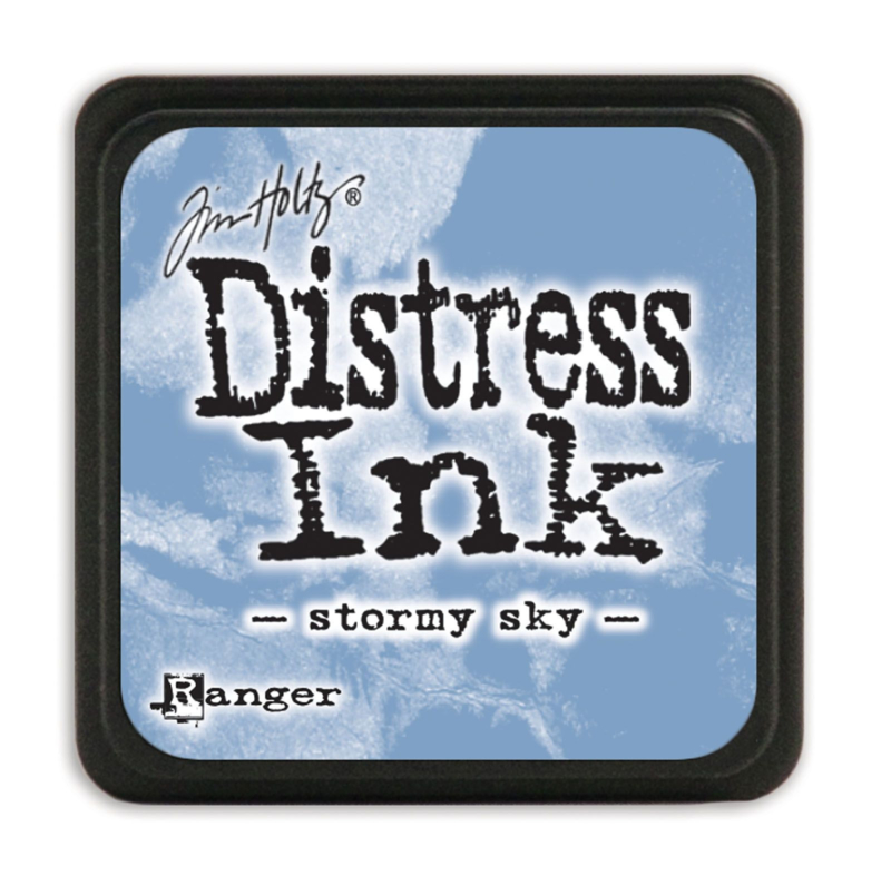 Tim Holtz Distress ink mini - stormy sky