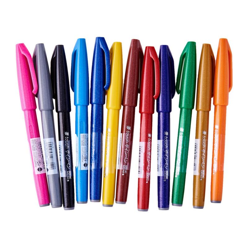 Brushpen Pentel Touch Pen SES15C