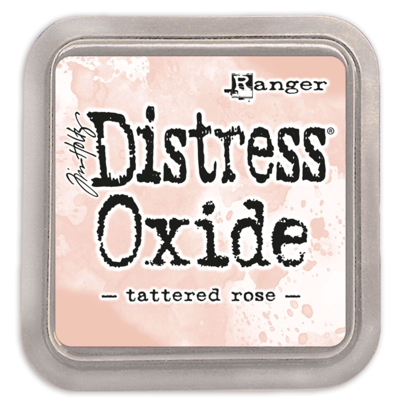 Tim Holtz Distress Oxide Inkt Pads groot - Tattered Rose