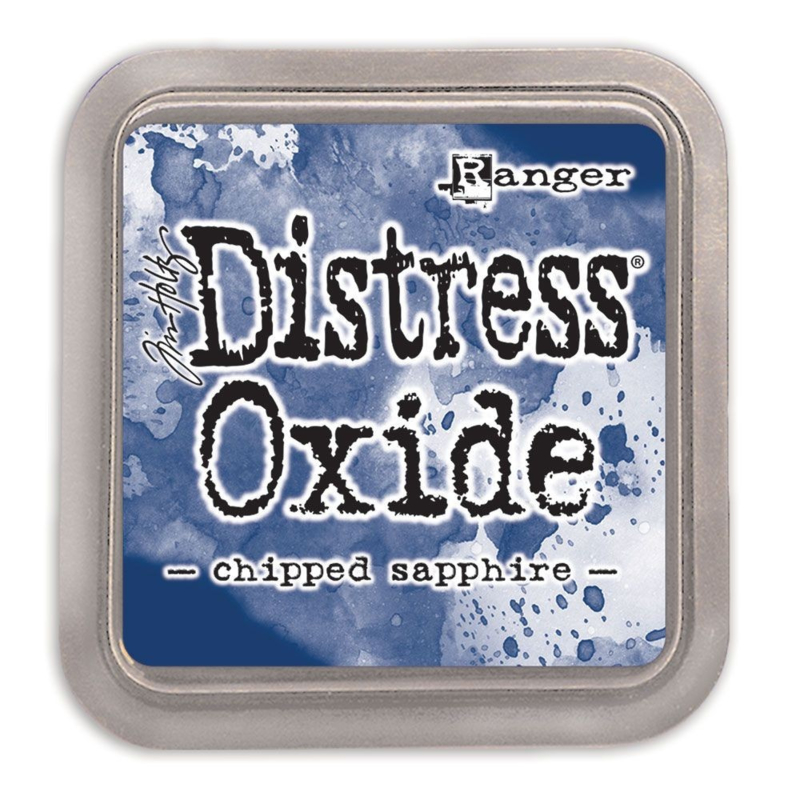 Tim Holtz Distress Oxide Inkt Pads groot - Chipped sapphire
