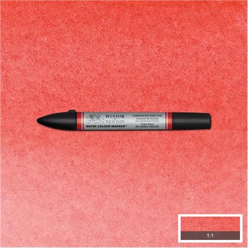 Winsor & Newton Watercolour brushpen - CADMIUM RED DEEP HUE