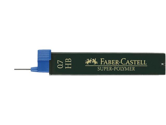 Faber Castell navulling potloodstiftjes Super-Polymer 0,7 mm - Hardheid HB