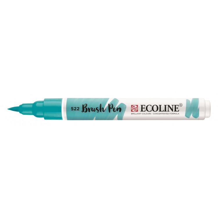 Talens Ecoline Brush Pen - 522 turkooisblauw