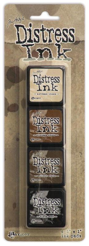Tim Holtz distress mini ink kit 3