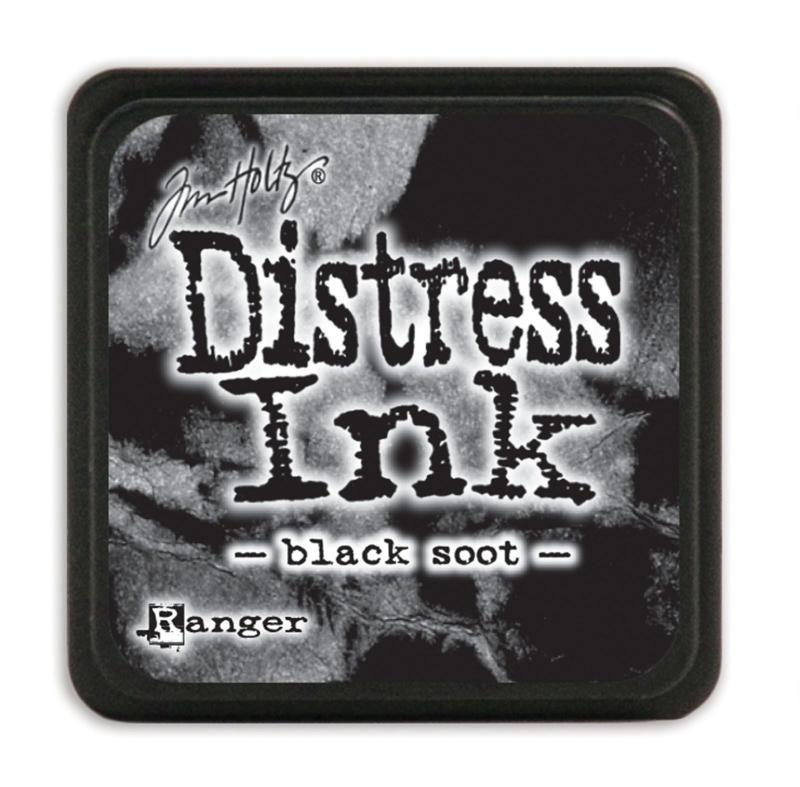 Tim Holtz Distress ink mini - black soot