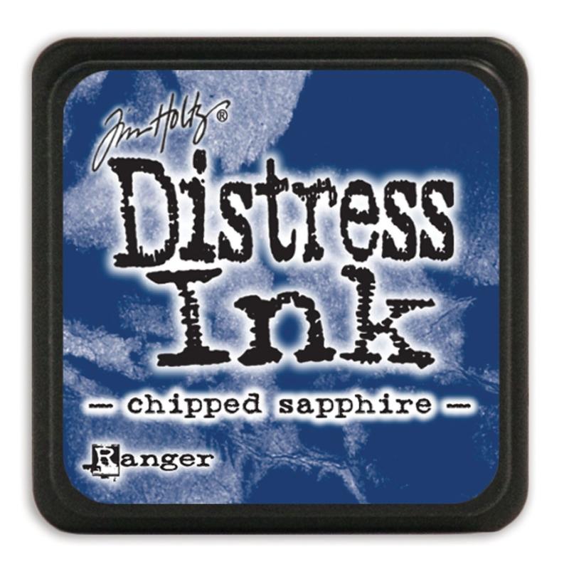 Tim Holtz Distress ink mini - chipped sapphire
