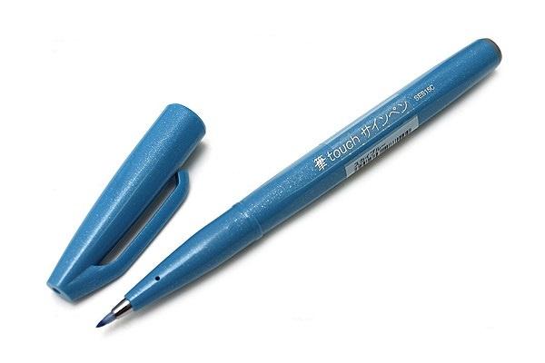 Brushpen Pentel Brush Sign Pen SES15C - Lichtblauw