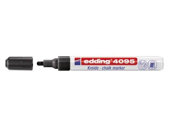 Edding 4095 Raam/krijtstift - rond 2-3 mm - Zwart
