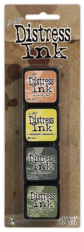 Tim Holtz distress mini ink kit 10
