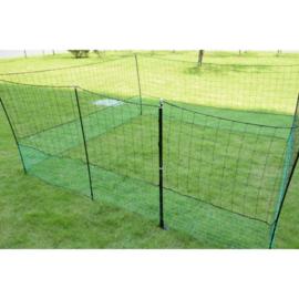 12 meter Kippenomheining  - Kippenren net set - Pluimveenet - Dierenafrastering