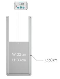 Automatische Hokopener Premium Besturing zonder deur  – Model Premium Plus - Kippendeur opener- Automatische Schuifluik opener