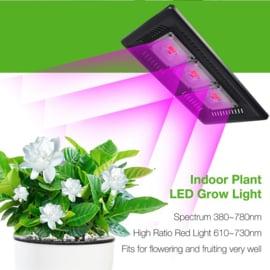 Groeilamp - Growlight LED  300 Watt  (extra rood voor bloei)