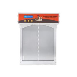 Automatische Hokopener met deur – Plug & Play - Kippendeur Opener- Automatische Schuifluik opener - Chicken Safe