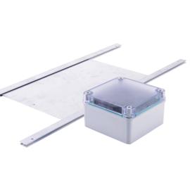 Automatische Hokopener met deur – Model Basis - Kippendeur Opener- Automatische Schuifluik opener - Chickensafe - ChickenGuard