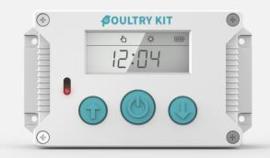Automatische Hokopener met deur – Model Premium Plus - Kippendeur Opener- Automatische Schuifluik opener - Chicken Safe