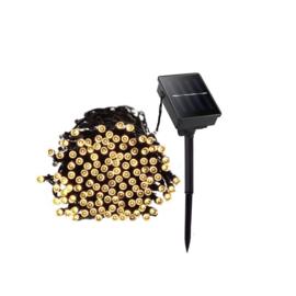Kerstverlichting Warm Wit op Zonne-energie met Ingebouwde Accu 20 meter
