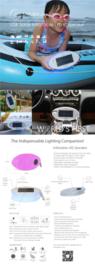 Luxi Lux Kleur met Mobiele Lader en Bluetooth Speaker