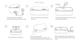 Ultrasonic Cleaner Smartclean Vision 5 - Ultrasoon Reiniger - Brillenbad - Ultrasoon Reinigingsapparaat