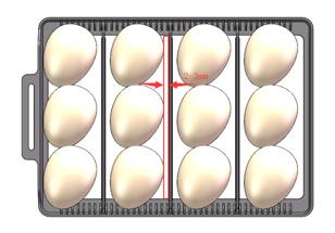 Broedmachine Smart & Flexibele Ei Capaciteit: 12 kippen/4 ganzen/9 eenden /24 duiven/35 kwartel met schouwlamp model 2020