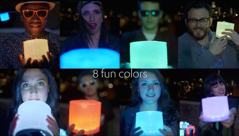 Luxi Solar LED Lamp Waterdichte Opblaasbare Led Lamp Kleur