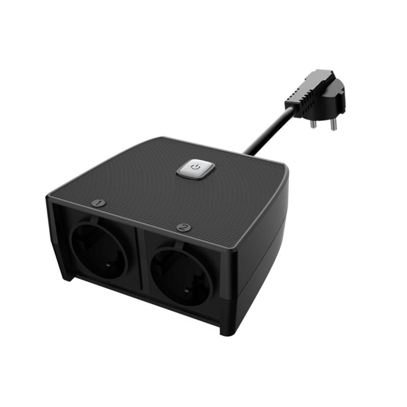 Smart Stekkerdoos met tijdschakelaar 220V - Slimme Stekkerblok Buiten - Tijdschakelklok Outdoor Connect Switch