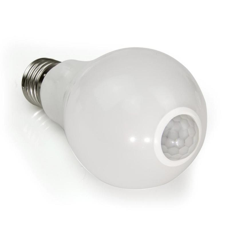 12w LED E27 Lamp met Bewegings-detectie Warm Wit