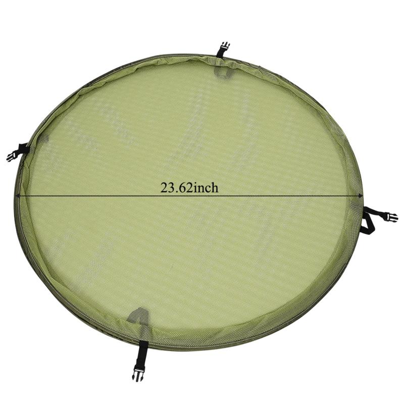 Droognet XL Pro 60cm 8 laags opvouwbaar (pop-up)