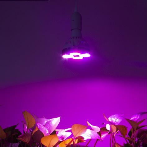 Groeilamp  E27 - Growlight LED 120W  interne koeling  , energiezuinig