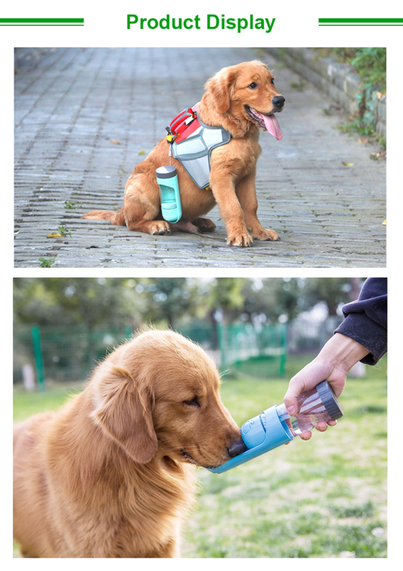 Honden DrinkFles - Portable Drinkbak honden - Honden Bidon