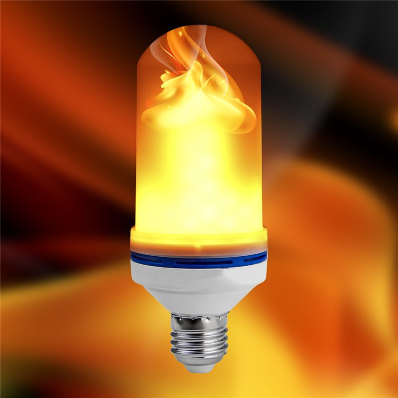 Led Flame Bulb Fire Lamp