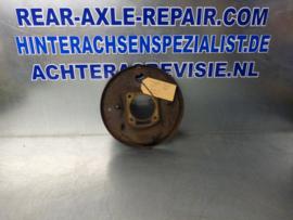 Brems Ankerplatte links (mit kurzem Rohr) Opel Ascona A, Manta A