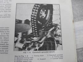 Autoboek Opel Kadett Olympia, Kadett 1967 - 1973